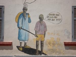 On a School Wall