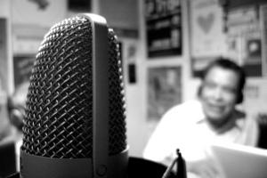 Inside Voladora Radio